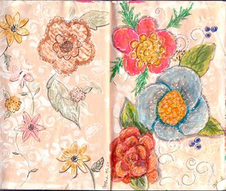 JournalFloralPaisley